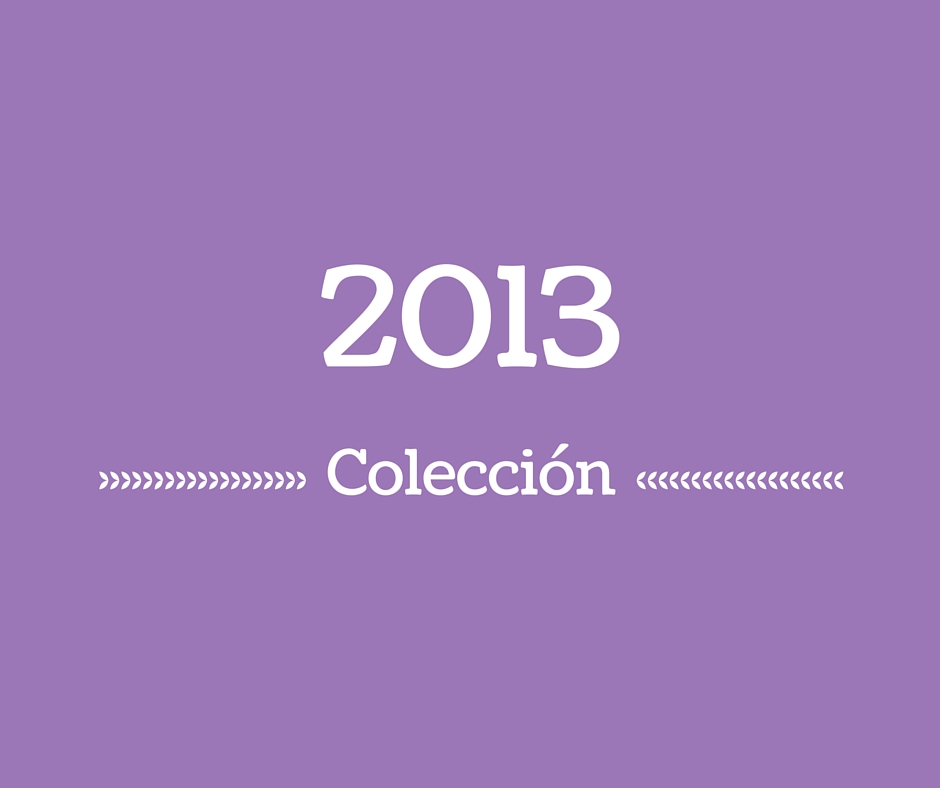 Colección 2013