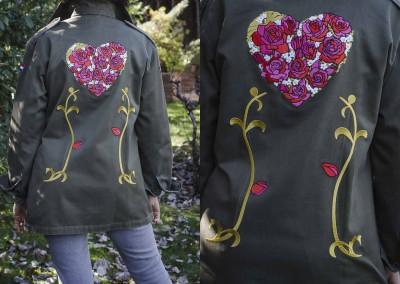 Florido corazón